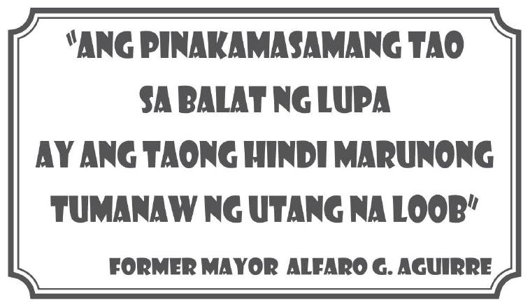 Quote Mayor Alfaro G Aguirre