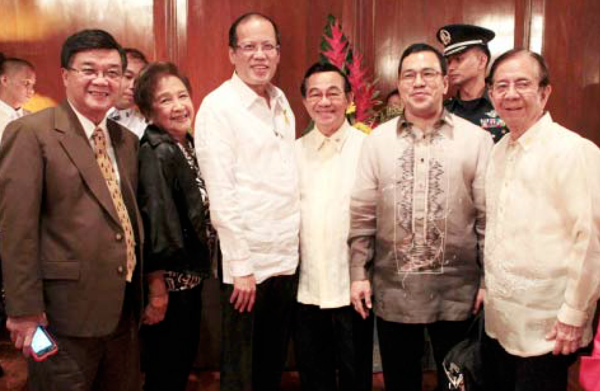 Vitaliano Aguirre II with President PNoy