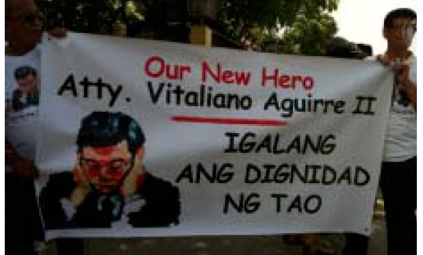 """""""Wala akong nilokong kliyente!""""- Atty. Aguirre"""