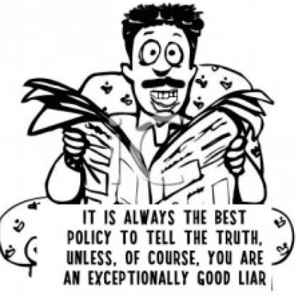 Wala ng Kaluluwa, Pathological Liar Pa!